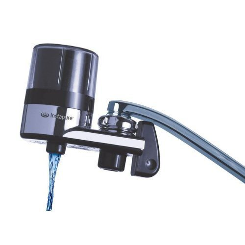 Instapure Brands F2BCTU-1ES Faucet Mount Water Filter Chrome