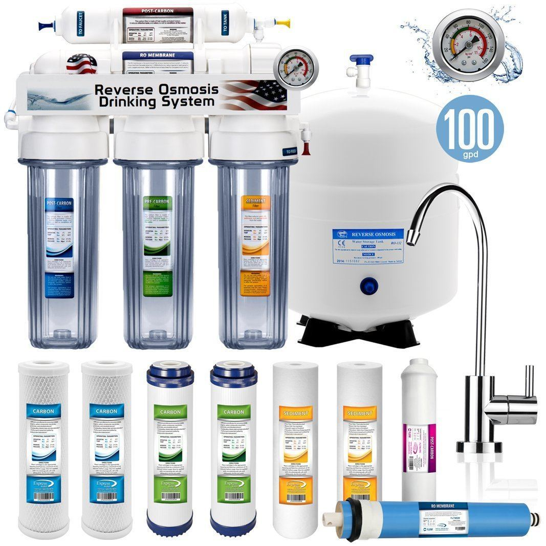 1.5 Stage Home Drinking Reverse Osmosis System