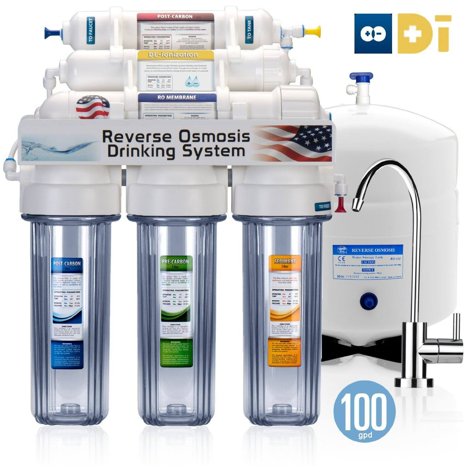4.Express Water 6 Stage UV Ultra-Violet Sterilizer Reverse Osmosis