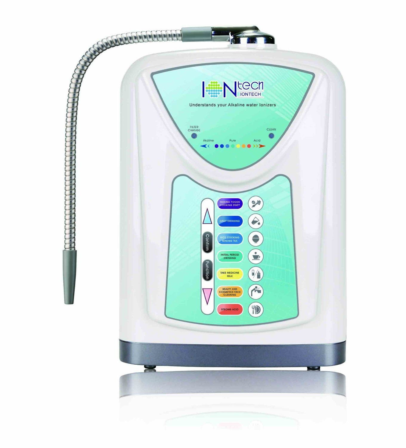 NEW Alkaline Water Ionizer Machine with Filter