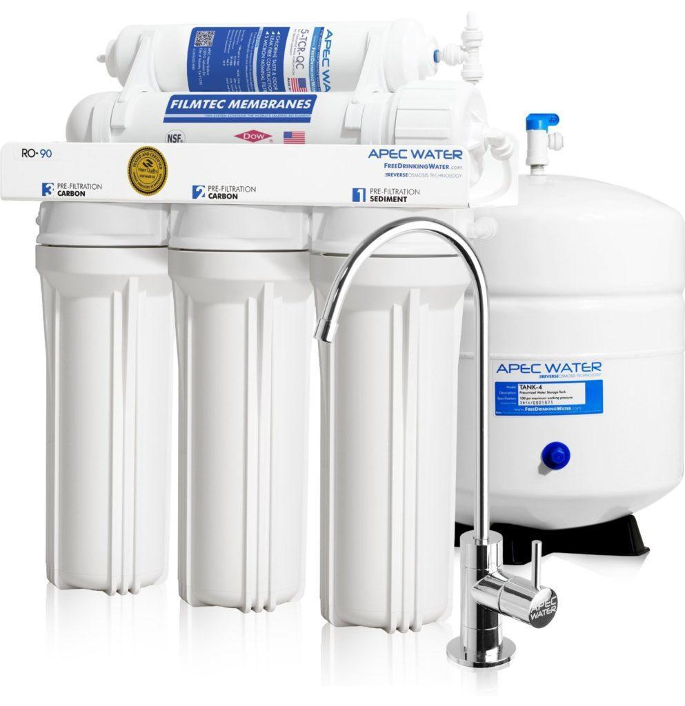 APEC Water High-Flow 90 GPD Reverse Osmosis