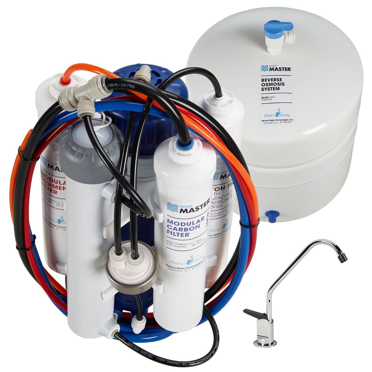 Home Master TMULTRA Ultra RO Undersink Reverse Osmosis System review