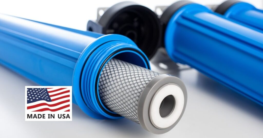 Water filters made in the USA